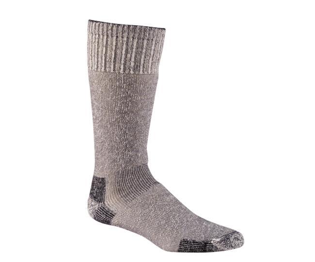 Носки охота-рыбалка 7014 GIBRALTAR FRONTIERНоски<br><br> Неважно, чем Вы занимаетесь на холоде, очень теплые гольфы, изготовленные из толстой мериносовой шерсти, сохранят Ваши ноги в тепле и комфорте. Плотная посадка.<br><br><br>Дугообразное уплотнение из Spandex удерживает носок на месте и обеспе...<br><br>Цвет: Серый<br>Размер: L