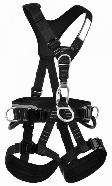 Обвязки промальп Skill LockОбвязки, беседки<br>Полная обвязка для удержания при срыве. Подходит для промышленного альпинизма, подъемов, спусков и спасательных работ. Регулируемые пояс...<br><br>Цвет: Черный<br>Размер: XS-M