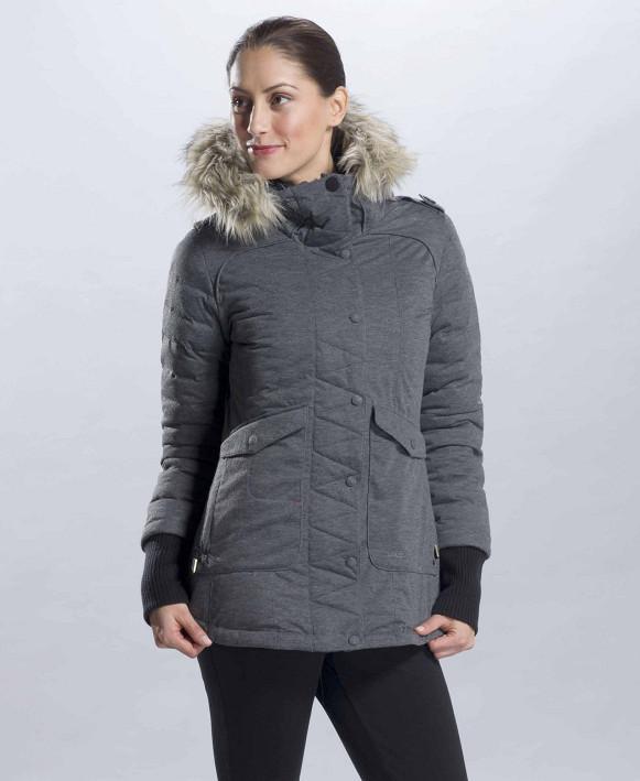 Куртка LUW0175 INES JACKETКуртки<br><br> Женская куртка INES JACKET – интересная двухсторонняя модель от канадской компании Lole, изменяющая свой цвет при выворачивании наизнанку. Удлиненный задний подол служит дополнительной защитой от холода и мокрого снега.<br><br><br><br><br>&lt;li...<br><br>Цвет: Серый<br>Размер: XS
