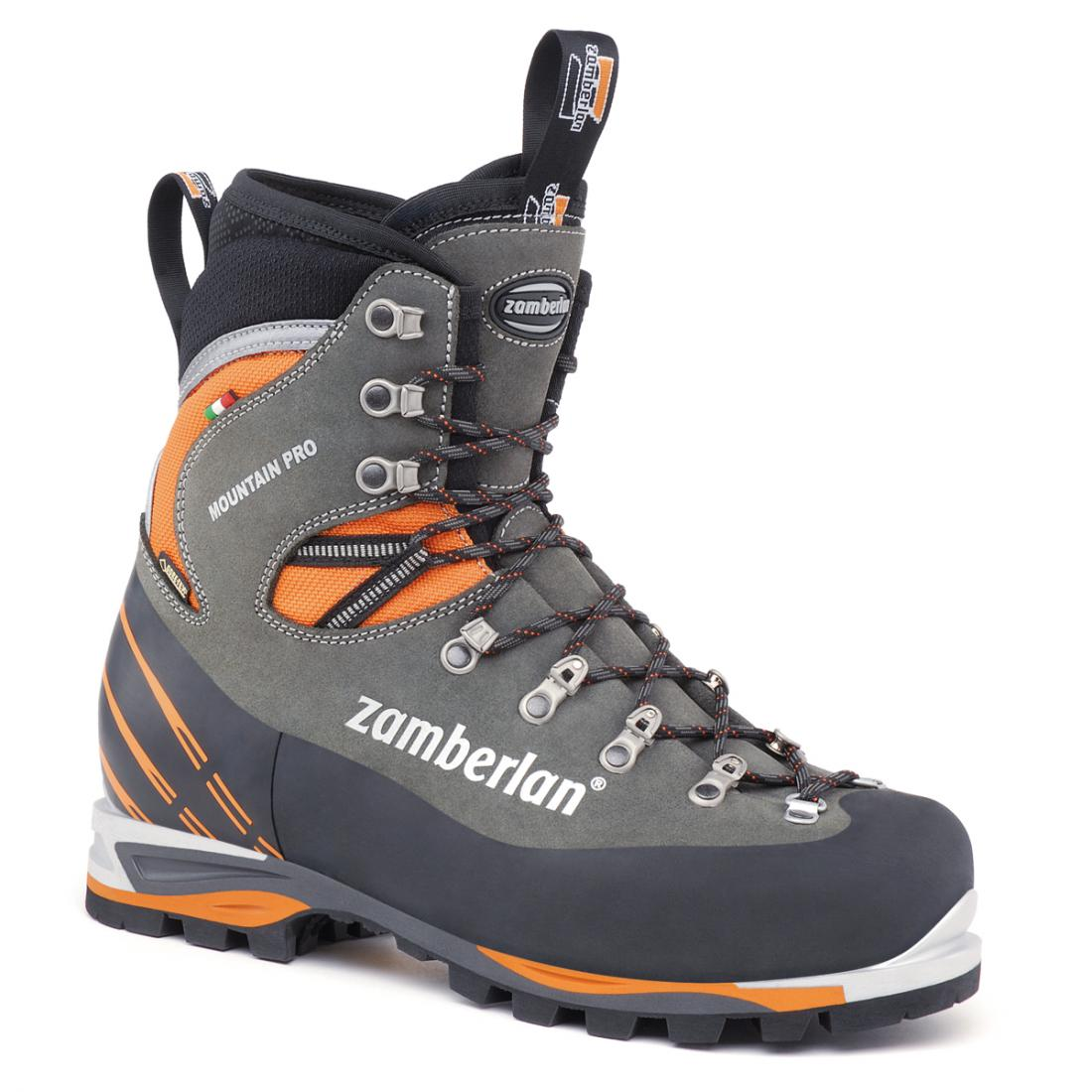 Zamberlan Ботинки 2090 MOUNTAIN PRO EVO GTX RR (45, Graphite/Orange, , ,) ботинки meindl meindl vakuum gtx