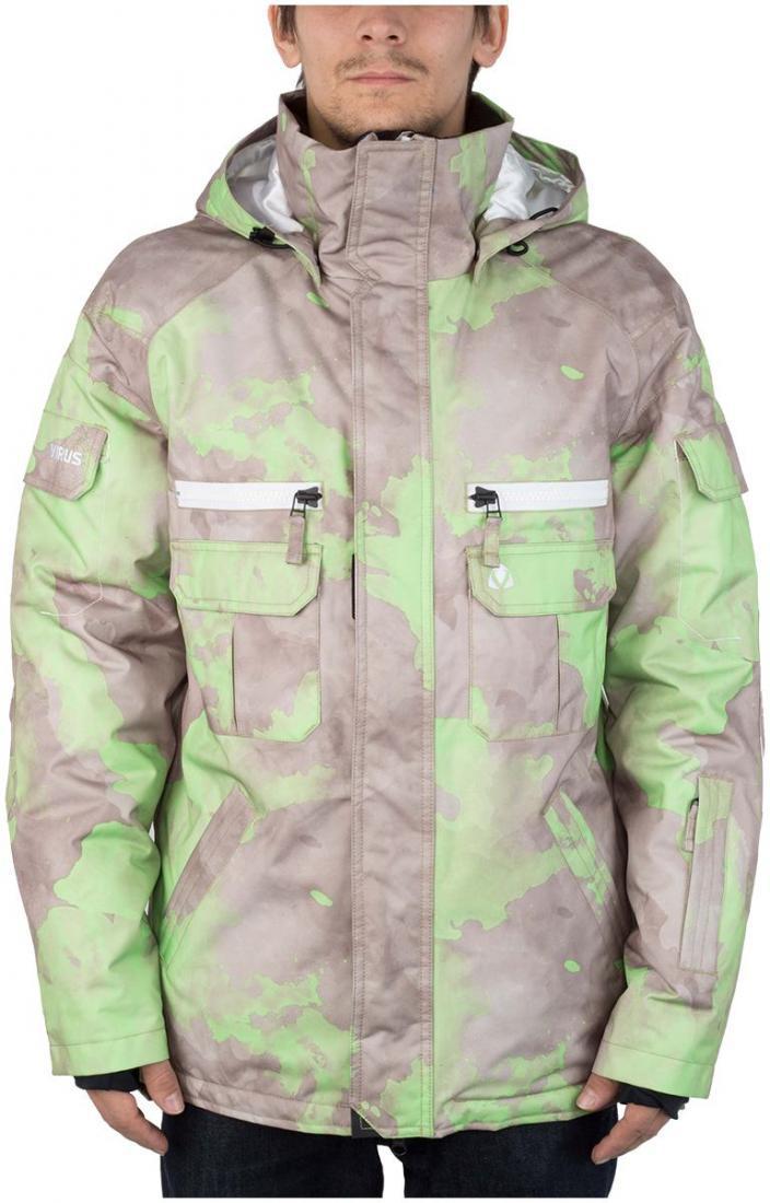 Куртка утепленная MistКуртки<br><br><br>Цвет: Серый<br>Размер: 56