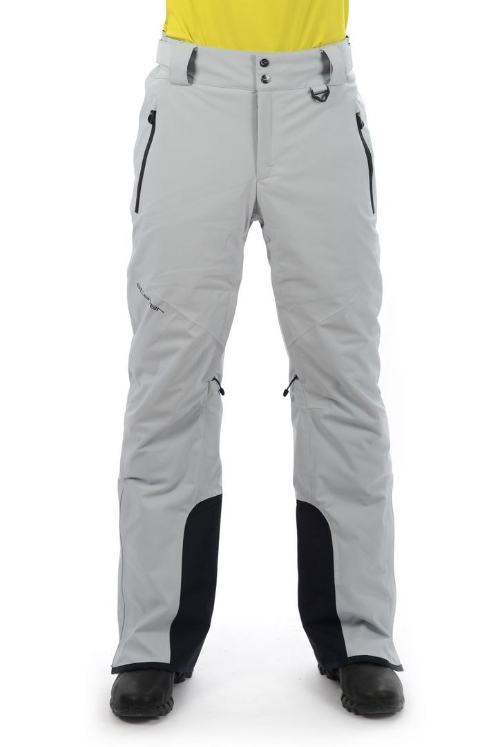 Брюки 17-22500 горн.муж.Брюки, штаны<br>Актуальные горнолыжные брюки из эксклюзивного мембранного материала с эффектом 4W Stretch - для полной свободы движения. Высокие показатели водонепроницаемости / паропроницаемости. Светоотражающие элементы для обеспечения безопасности на склоне в темно...<br><br>Цвет: Серый<br>Размер: 52