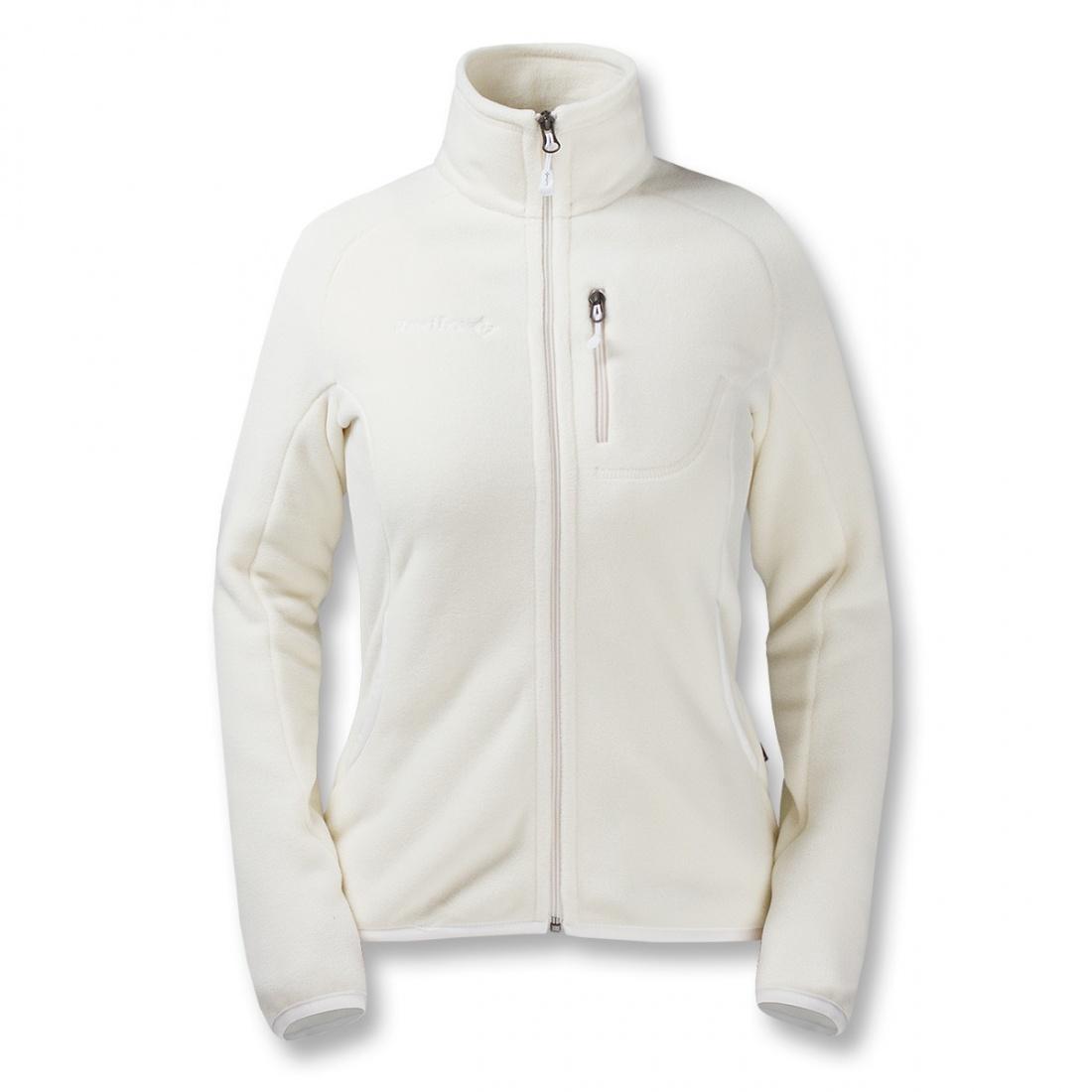Куртка Peak II ЖенскаяКуртки<br>Эргономичная женская куртка серии Mountain Sport из материала Polartec® Classic 200. Обладает высокими теплоизолирующими и дышащими свойствами, может использоваться в качестве среднего утепляющего слоя. Идеальна для альпинизма и горного туризма.<br><br>...<br><br>Цвет: Белый<br>Размер: 50