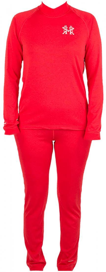 Термобелье костюм Cosmos детскийКомплекты<br>Очень легкое, прочноеи комфортное термобелье для мальчиков и девочек от 2 до 12 лет. Лучший выбор для высокой активности при низких температурах.Плоские эластичные швы обеспечивают высокую прочность. Избыточная влага отводится с поверхности тела квнешн...<br><br>Цвет: Красный<br>Размер: 158