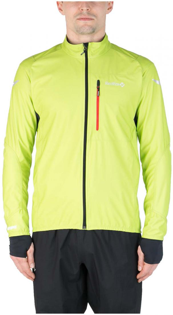 Куртка Active Shell МужскаяКуртки<br><br> Cпортивная куртка для высокоактивных видов спорта в холодную и ветреную погоду. Предназначена для использования на беговых тренировка...<br><br>Цвет: Светло-зеленый<br>Размер: 56