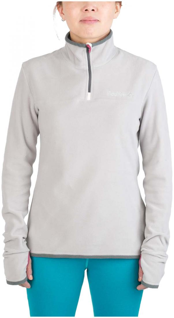 Термобелье пуловер Penguin 100 Micro ЖенскийПуловеры<br><br> Комфортный пуловер свободного кроя из материалаPolartec®Micro. Благодаря особой конструкции микроволокон, обладает высокими теплоизолирующимисвойствами и создает благоприятный микроклимат длятела. Может использоваться в качестве базового слоя&lt;br...<br><br>Цвет: Белый<br>Размер: 50