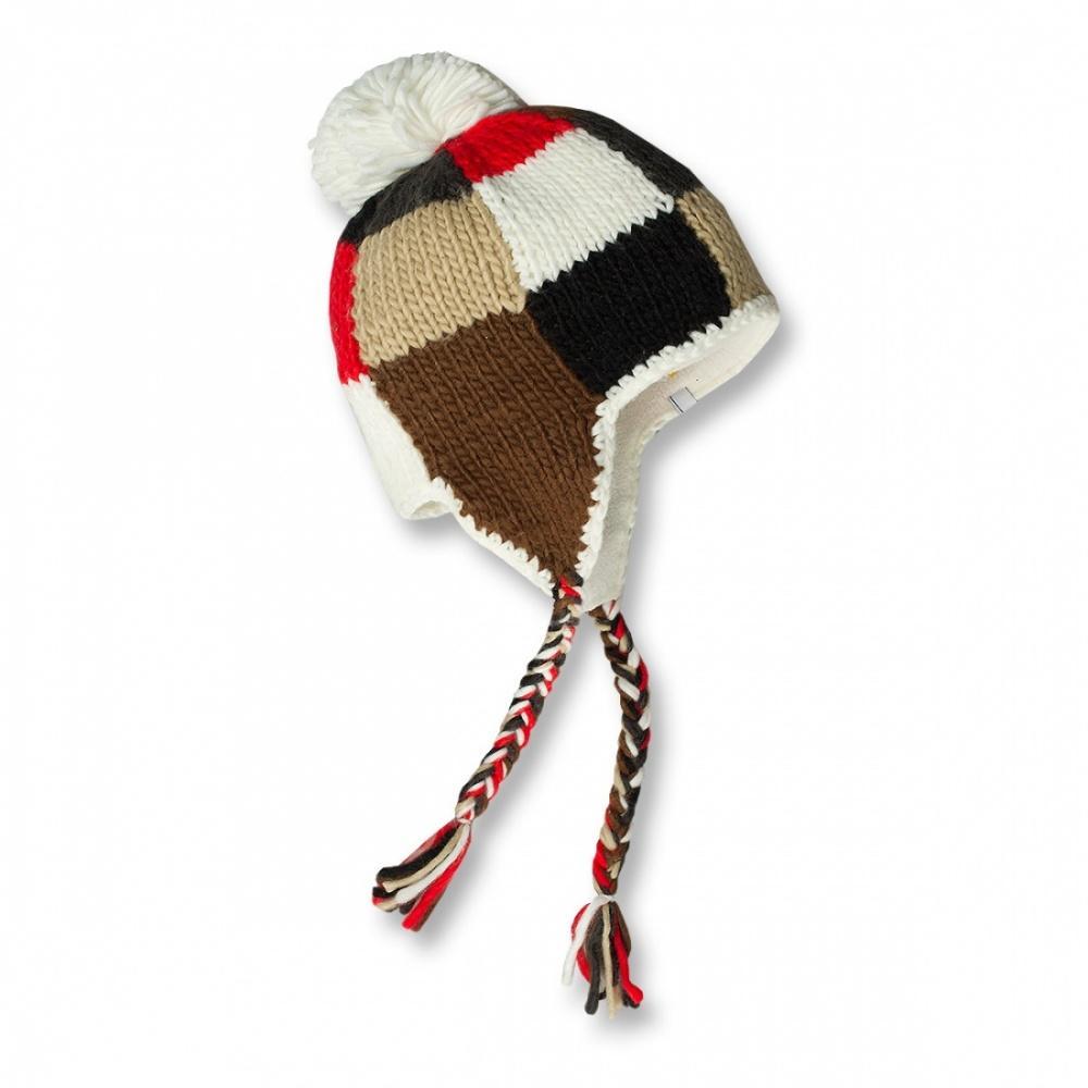 Шапка Polyline IIШапки<br>Модная шапка с теплой флисовой вставкой для защиты ушей.<br><br><br>Материал: 100% акрил<br><br>Размерный ряд: one size<br><br>Цвет: Коричневый<br>Размер: None