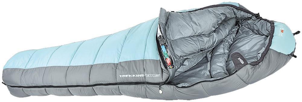 Спальный мешок ARKTIDA long LСпальные мешки<br><br>Очень комфортный спальник для холодных ночей. Мягкий синтетический двухслойный утеплитель обеспечивает отличную теплоизоляцию. Спаль...<br><br>Цвет: Голубой<br>Размер: None