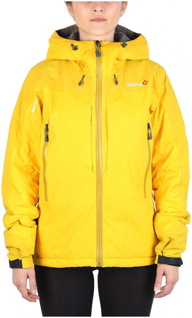 Куртка утепленная Wind Loft II ЖенскаяКуртки<br><br> Комбинация высокотехнологичного материала WINDSTOPPER® Active Shell с утеплителем PrimaLoft® Gold Insulation, позволяет использовать куртку в очень холодны...<br><br>Цвет: Желтый<br>Размер: 44