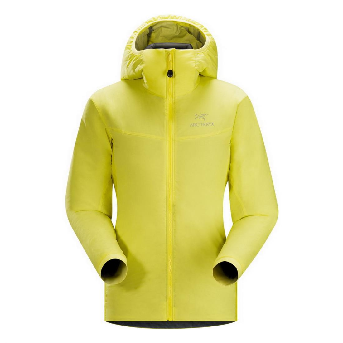 Куртка Atom LT Hoody жен.Куртки<br><br><br><br> Универсальная женская куртка Arcteryx Atom LT Hoody – оптимальный вариант для занятий зимними активными видами спорта и походов. Очень легкая и теплая, она дарит комфорт и не сковывает движений.<br><br><br><br><br><br>Утеп...<br><br>Цвет: Лимонный<br>Размер: M