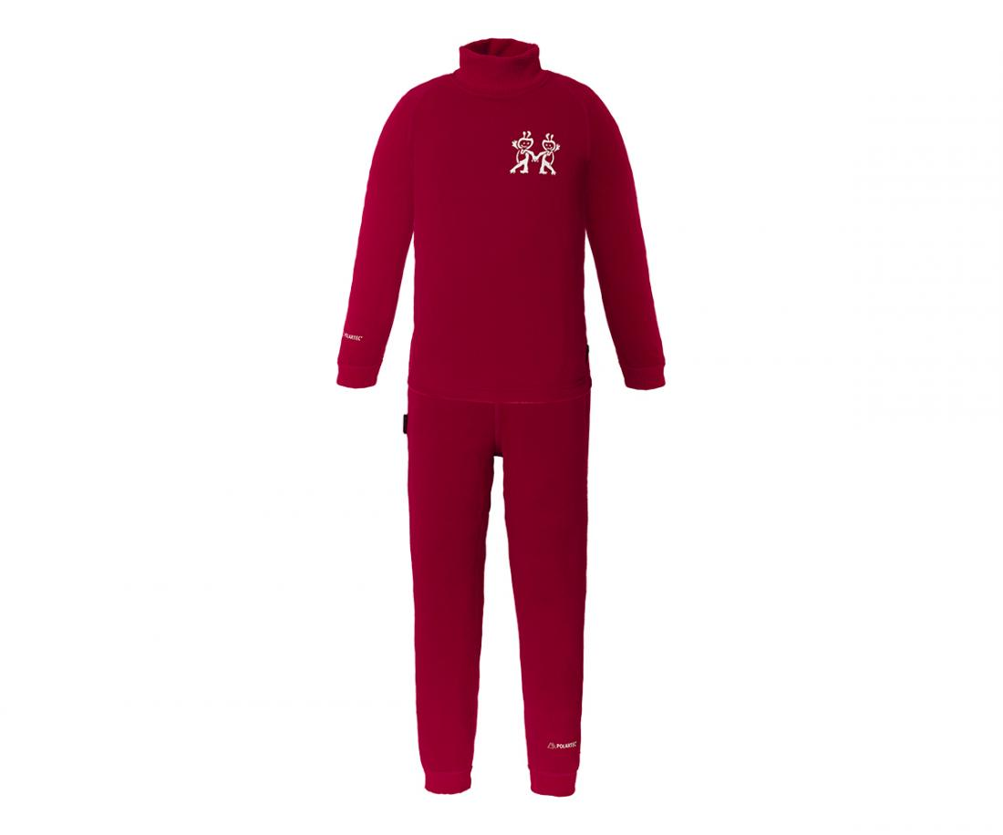 Термобелье костюм Cosmos детскийКомплекты<br>Очень легкое, прочноеи комфортное термобелье для мальчиков и девочек от 2 до 12 лет. Лучший выбор для высокой активности при низких температурах.Плоские эластичные швы обеспечивают высокую прочность. Избыточная влага отводится с поверхности тела квнешн...<br><br>Цвет: Малиновый<br>Размер: 110