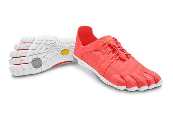 Мокасины Vibram  FIVEFINGERS CVT LS WVibram FiveFingers<br>Женская модель CVT LS оснащена облегченной подошвой EVA, которая делает эту обувь очень удобной и комфортной для повседневной носки. Вы может...<br><br>Цвет: Красный<br>Размер: 40