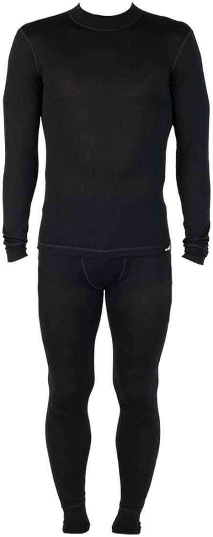 Термобелье костюм Wool Dry Light МужскойКомплекты<br><br> Теплое мужское термобелье для любителей одежды изнатуральных волокон.Выполнено из 100% мериносовой шерсти, естественнымобразом отводит влагу и сохраняет тепло; приятное ктелу. Диапазон использования - любая погода от осенних дождей до зимних сн...<br><br>Цвет: Черный<br>Размер: 48