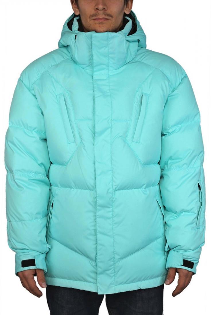 Куртка пуховая Booster IIКуртки<br><br><br>Цвет: Бирюзовый<br>Размер: 48
