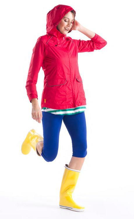 Куртка LUW0229 CAMDEN JACKETКуртки<br>CAMDEN JACKET – легкая женская куртка с капюшоном, которая может использоваться как ветровка, часть спортивной экипировки  или в качестве повсед...<br><br>Цвет: Красный<br>Размер: S