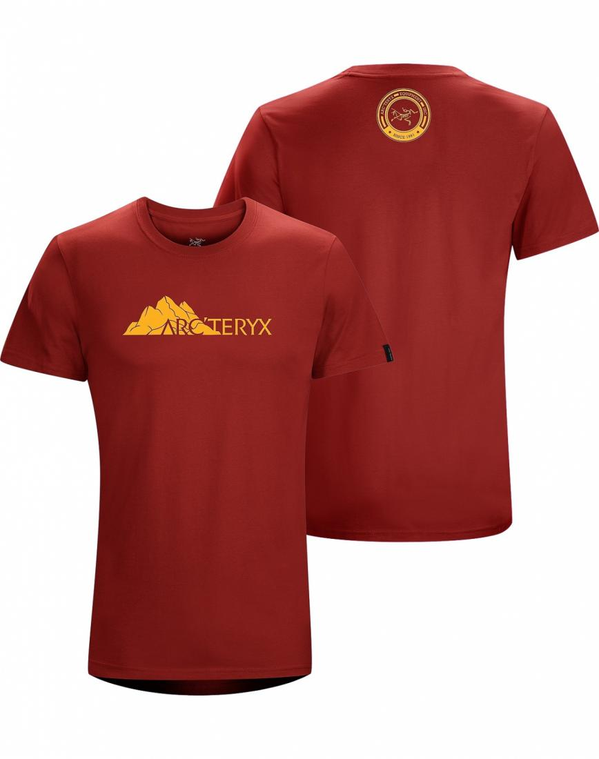 Футболка Range T-Shirt SS муж.Футболки, поло<br><br><br><br> Футболка из хлопка с короткими рукавами и с рисунком, нанесенным с помощью цифровой печати. <br><br><br> <br><br><br><br><br>Материал – ...<br><br>Цвет: Бордовый<br>Размер: XL
