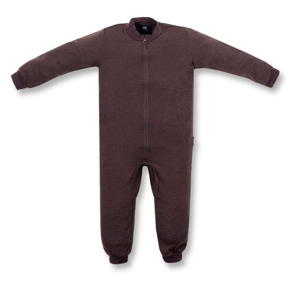 Термобелье комбинезон Little Wool ДетскийКомплекты<br><br> Мягкий шерстяной комбинезончик подарит вашему малышу тепло и комфорт. Свободный крой комбинезона не стеснит движений. Комбинезон подх...<br><br>Цвет: Коричневый<br>Размер: 92