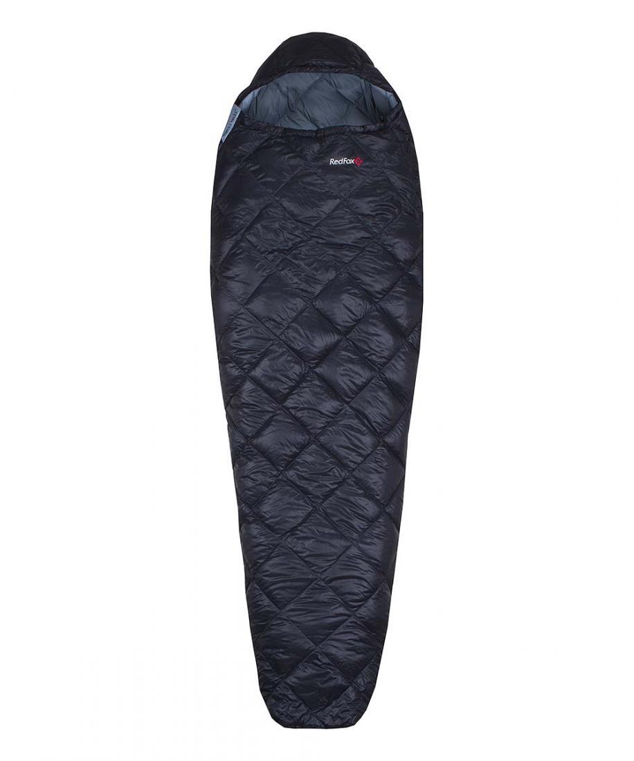 Red Fox Спальный мешок пуховый Fantom F1 right (XL Long, 1000/черный, ,)