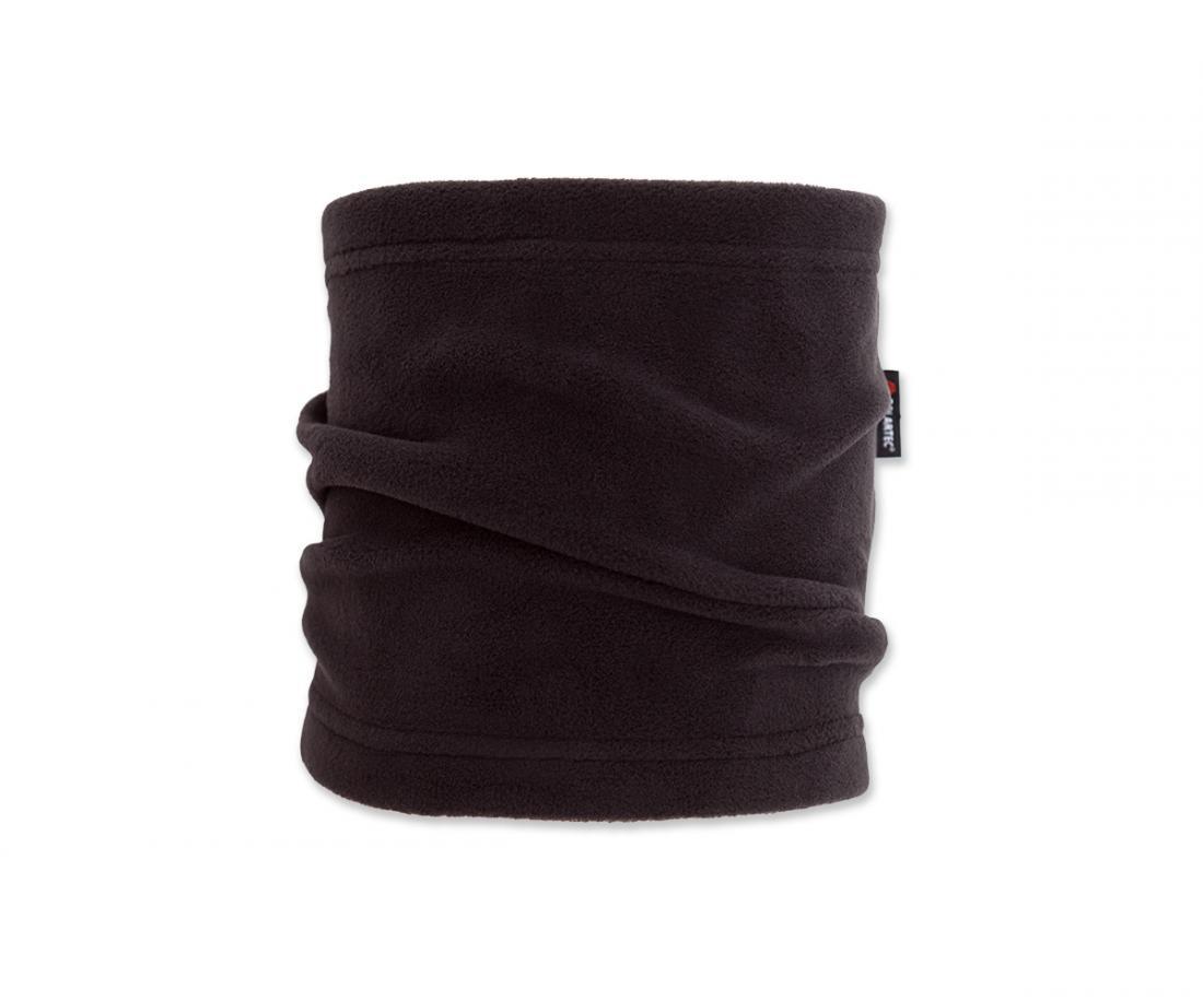 Шарф-хомут PolartecШарфы<br><br> Теплый шарф из материала Polartec® Micro. Надежно сохраняет тепло и защищает от холода.<br><br><br> Особенности<br><br><br>Основное назначение: Люб...<br><br>Цвет: Черный<br>Размер: None