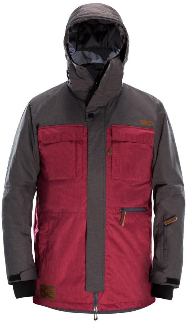 Куртка утепленная BUNCHКуртки<br>Модель утепленной удлиненной куртки Bunch отлично подойдет, как для катания, так и повседневного использования. Изобилие карманов позволяет оптимально распределить все нужные обладателю куртки вещи.<br>Все детали выполняют не только декоративную роль, но...<br><br>Цвет: Бордовый<br>Размер: S