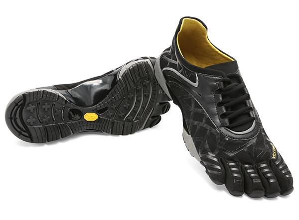 Мокасины FIVEFINGERS Vybrid Sneak MVibram FiveFingers<br>В модели Vybrid Sneak есть всё, что вы любите в FiveFingers   минимализм, гибкость, ощущение босоногой ходьбы, а также усиленная амортизация и усовершенствованная дугообразная поддержка лодыжки делают эту модель идеальной как для повседневной носки, та...<br><br>Цвет: Черный<br>Размер: 45