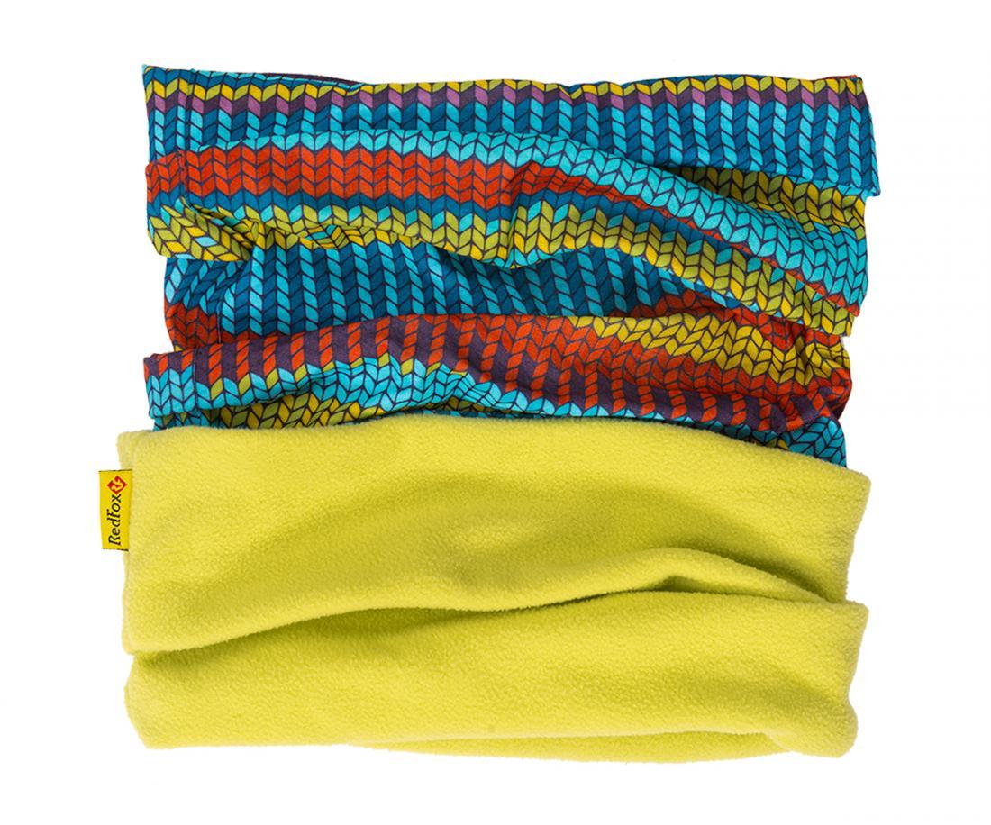 Шарф-бандана MF ДетскийШарфы<br>Универсальный шарф-бандана с флисовой вставкой. Прекрасно защищает от холода. Можно носить в качестве головного убора или в качестве шарфа...<br><br>Цвет: Зеленый<br>Размер: None
