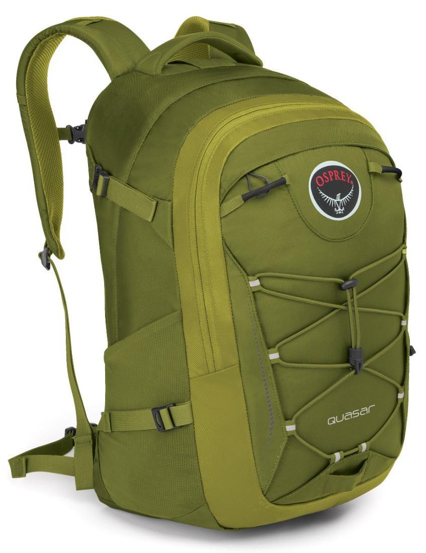 Рюкзак Quasar 28Рюкзаки<br>Обновленный рюкзак городской серии, в разработке которого бесспорно учли многолетний опыт создания рюкзаков Osprey.<br>Quasar 28 - универсальный прочный рюкзак высокого качества с множеством функциональных особенностей, превосходной организацией внутрен...<br><br>Цвет: Темно-зеленый<br>Размер: 28 л