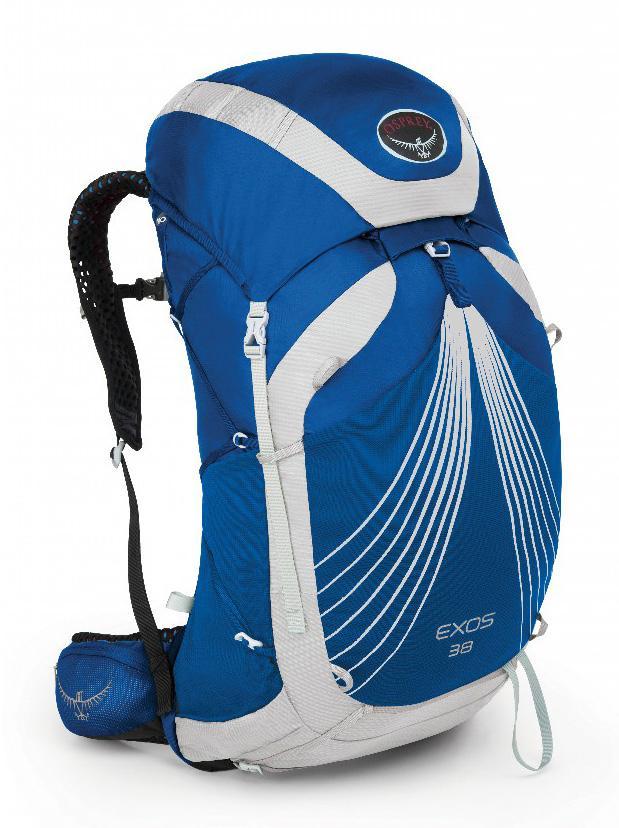 Фото - Рюкзак Exos 38 от Osprey Рюкзак Exos 38 (S, Pacific Blue, ,)