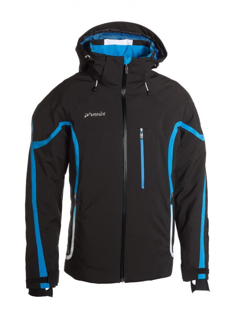 Куртка ES472OT33 Lightning муж.г/лКуртки<br><br><br>Цвет: Черный<br>Размер: 48