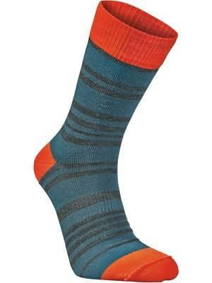 Носки StripeНоски<br><br>Состав: 51% шерсть мериноса, 48% полиамид, 1% Lycra®<br>Размерный ряд: 34-36, 37-39, 40-42, 43-45, 46-48<br><br><br>Цвет: Синий<br>Размер: 43-45