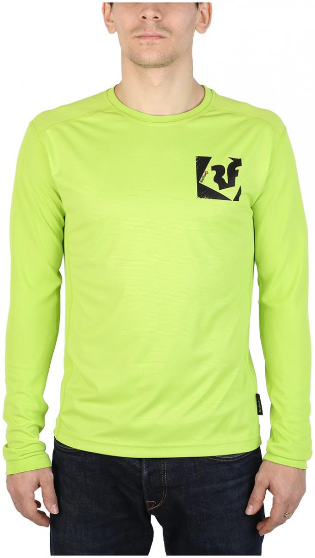 Футболка Trek T LS МужскаяФутболки, поло<br><br> Легкая и функциональная футболка, выполненная извлагоотводящего и быстросохнущего материала.<br><br><br> Основные характеристики:<br><br><br>свободный крой<br>комфортный вырез горловины округлой формы<br><br>обработка матер...<br><br>Цвет: Салатовый<br>Размер: 54