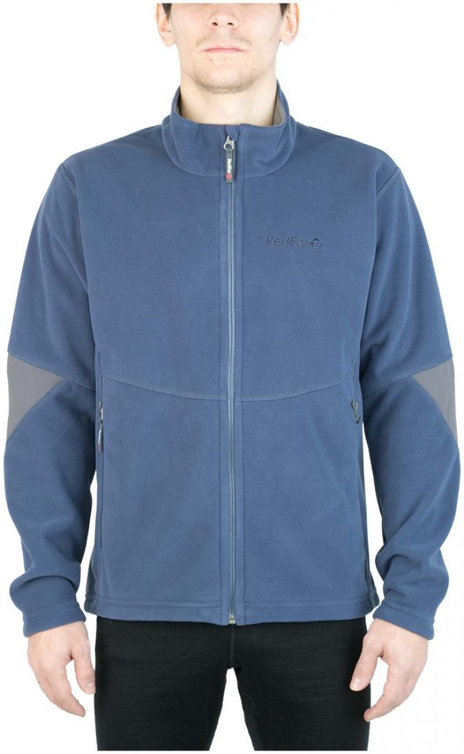 Куртка Defender III МужскаяКуртки<br><br> Стильная и надежна куртка для защиты от холода и ветра при занятиях спортом, активном отдыхе и любых видах путешествий. Обеспечивает свободу движений, тепло и комфорт, может использоваться в качестве наружного слоя в холодную и ветреную погоду.<br>&lt;/...<br><br>Цвет: Синий<br>Размер: 48