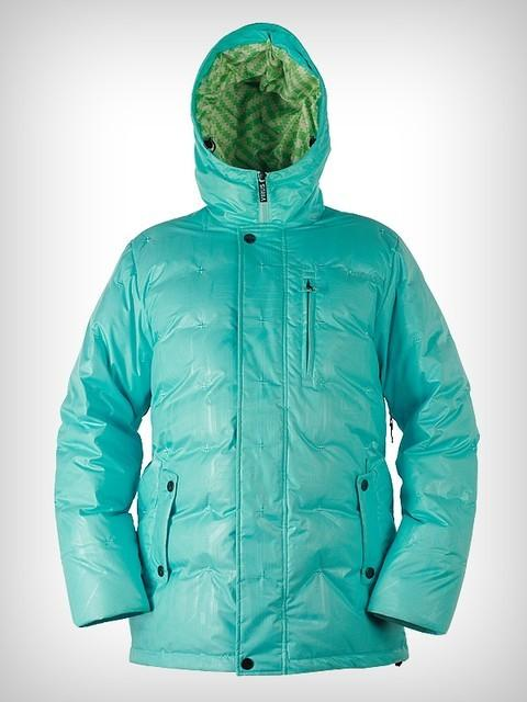 Куртка пуховая GrizzlyКуртки<br><br><br>Цвет: Голубой<br>Размер: 48