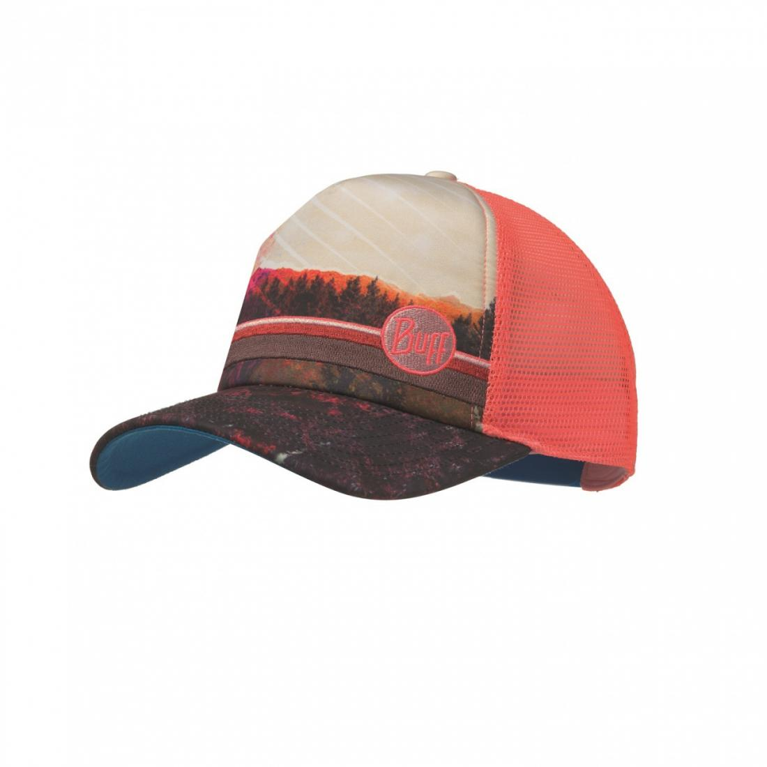 Buff Кепка BUFF TRUCKER CAP (One Size, SHADE MULTI, , ,) кепка buff buff florsret