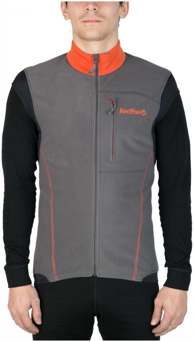 Жилет Wind Vest IIЖилеты<br><br> Удобный спортивный жилет для использования в качестве промежуточного или верхнего утепляющегослоя. Передняя часть жилета выполнена ...<br><br>Цвет: Апельсиновый<br>Размер: 54