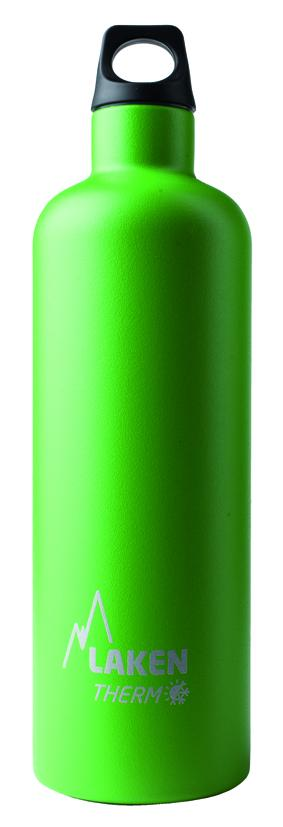 72-V Фляга Futura с карабином screw capПосуда<br><br> Алюминиевая фляга Futura 72-V объемом 0,75 литра имеет узкое горлышко, закрывающееся плотной крышкой с карабином. Модель отличается лаконичным дизайном, поверхность выкрашена в насыщенный зеленый цвет и украшена логотипом бренда Laken.<br><br><br>...<br><br>Цвет: Зеленый<br>Размер: 0.75