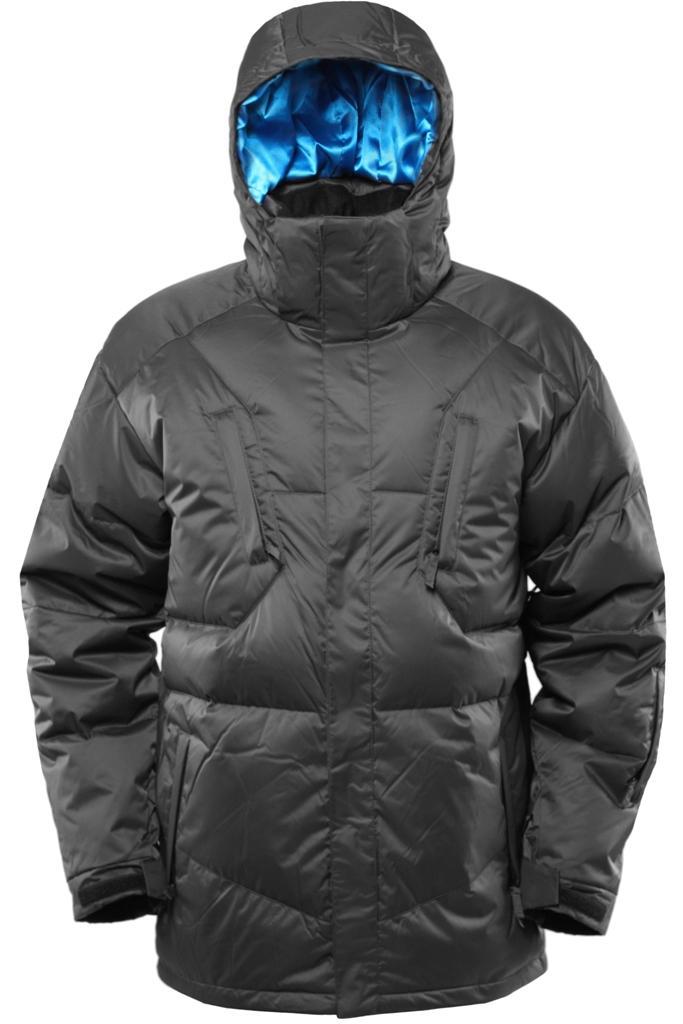 Куртка пуховая Booster IIКуртки<br><br><br>Цвет: Темно-серый<br>Размер: 54
