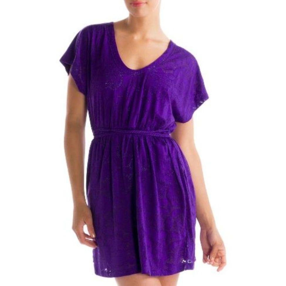 Платье LSW0944 RUMBA 2 DRESSПлатья<br><br> Легкое летнее платье Lole Rumba 2 Dress LSW0944 покоряет своей нежностью и женственностью. Оно невероятно удобное и практичное благодаря высокой устойчивости к ткани к износу и повреждениям.<br><br><br> С помощью эластичной вставки и тонкого плет...<br><br>Цвет: Фиолетовый<br>Размер: M
