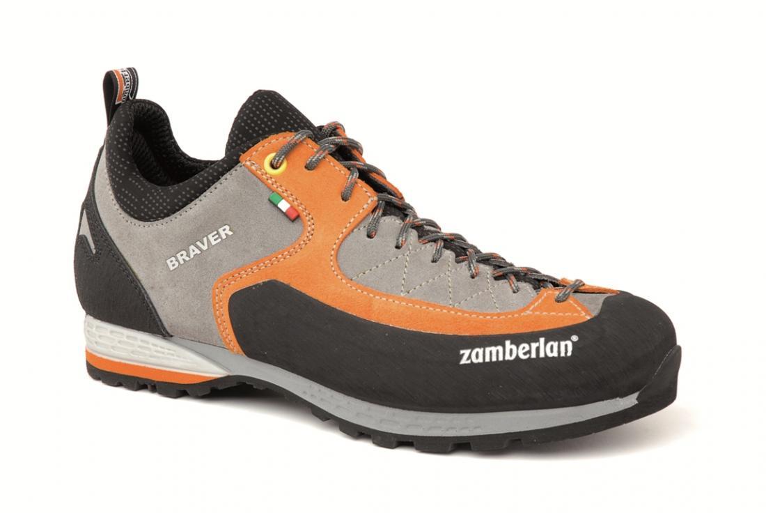 Кроссовки скалолазные 2152 BRAVER RRСкалолазные<br><br><br>Цвет: Оранжевый<br>Размер: 46