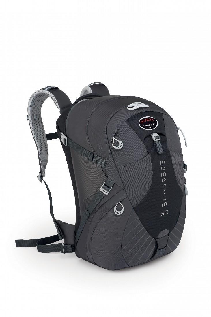 Рюкзак Momentum 30Рюкзаки<br>Рюкзак Momentum 30 просто создан для поездок. Идеальный баланс между качеством и удобной организацией, прекрасный компаньон для путешествий. Хорошо вентилируемая спина AirSpeed™ и лямки с подкладкой из сетки позволяют сбалансировать центр тяжести и соз...<br><br>Цвет: Темно-серый<br>Размер: 30 л