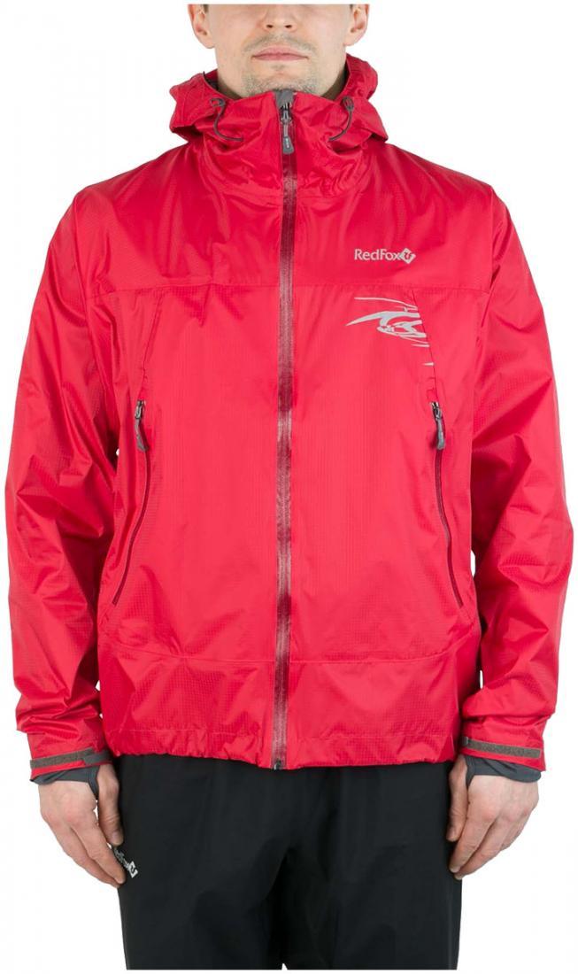 Куртка ветрозащитная Trek IIКуртки<br><br><br> Легкая влаго-ветрозащитная куртка для использованияв ветреную или...<br><br>Цвет: Алый<br>Размер: 52