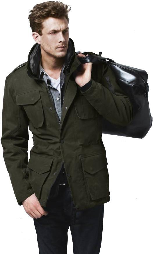 Куртка утепленная муж.DefenderКуртки<br>DEFENDER - это тот френч, каким он должен быть. Мы взяли классику за основу и создали френч 21 века: многофункциональный, износостойкий, удобный, но, при этом, современный, спортивный и уверенный. В результате мы получили куртку, которая очень серьезно...<br><br>Цвет: Темно-зеленый<br>Размер: L