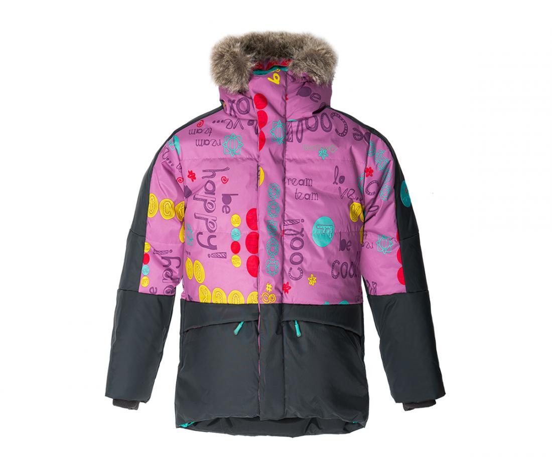 Куртка пуховая Extract II ДетскаяКуртки<br>В экстремально теплом пуховике ваш ребенок гарантированно будет чувствовать себя комфортно в самую морозную погоду. Дополнительный слой функционального утеплителя Omniterm® создает высокие теплоизолирующие свойства. Удобная регулировка по талии и низу кур...<br><br>Цвет: Фиолетовый<br>Размер: 128