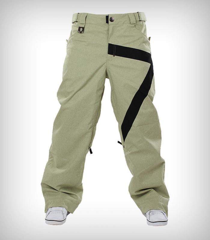 Штаны сноубордические ZБрюки, штаны<br><br> Легкие сноубордические штаны Z-Pants выполнены из прочной ткани, которая делает их идеальной экипировкой для катания в парке. Декор грубой лентой добавляет им неповторимого стиля. А свободная посадка не стесняет движений и оставляет скрытым полный ...<br><br>Цвет: Светло-зеленый<br>Размер: 46