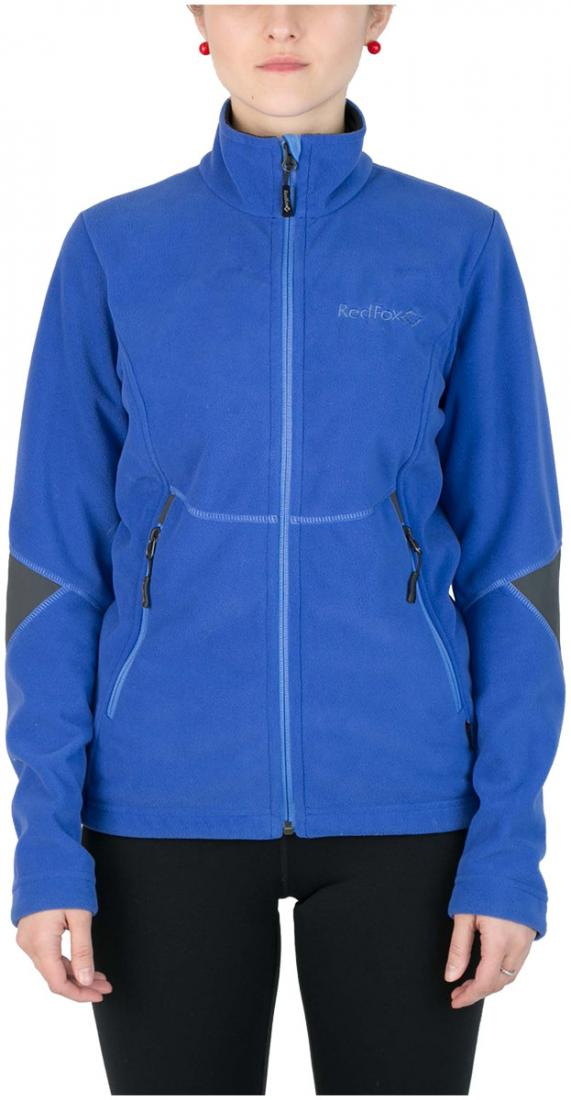 Куртка Defender III ЖенскаяКуртки<br><br> Стильная и надежна куртка для защиты от холода и ветра при занятиях спортом, активном отдыхе и любых видах путешествий. Обеспечивает свободу движений, тепло и комфорт, может использоваться в качестве наружного слоя в холодную и ветреную погоду.<br>&lt;/...<br><br>Цвет: Синий<br>Размер: 42