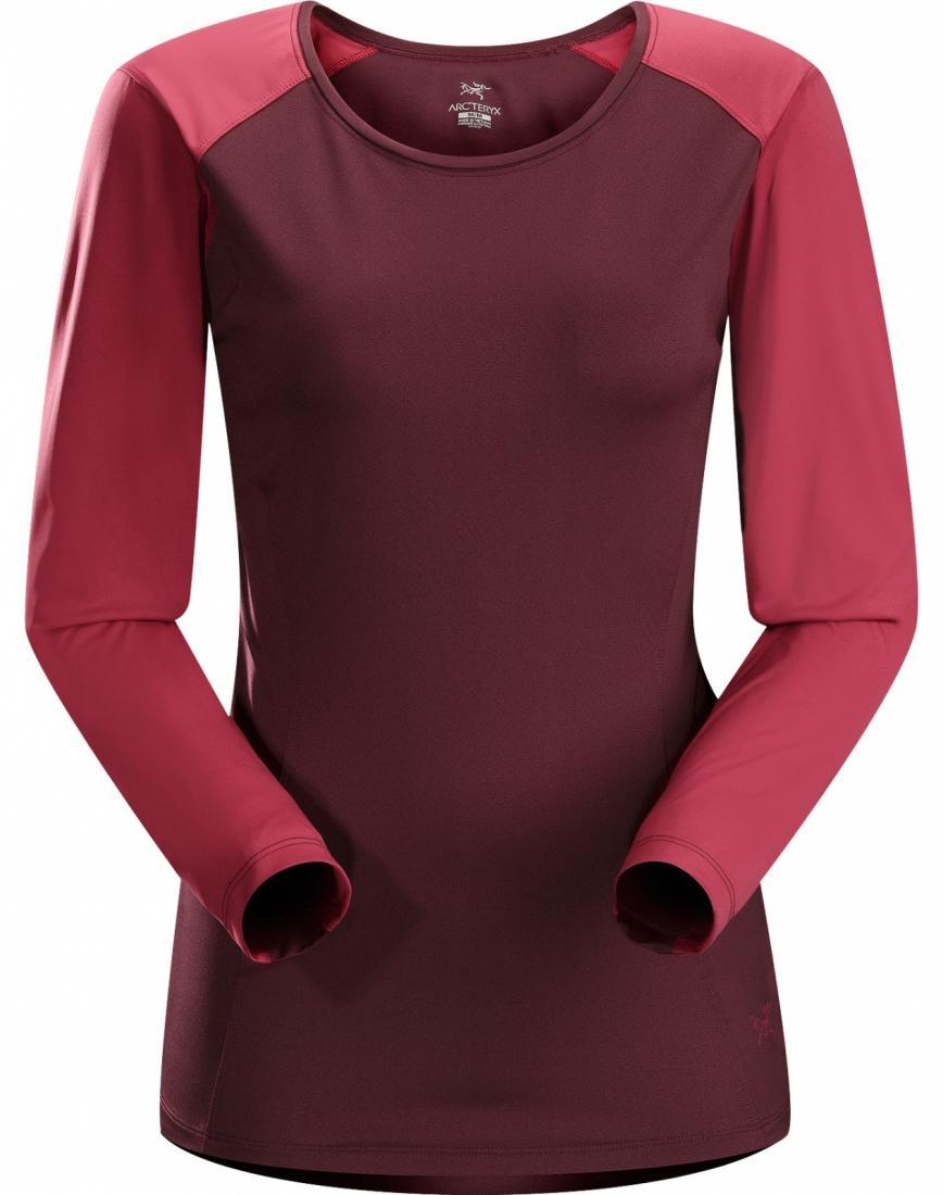 Футболка Skeena LS жен.Футболки, поло<br><br> Легкая удобная футболка с длинными рукавами из хорошо тянущейся, впитывающей износостойкой ткани.<br><br><br><br><br><br><br><br>Материал о...<br><br>Цвет: Бордовый<br>Размер: L