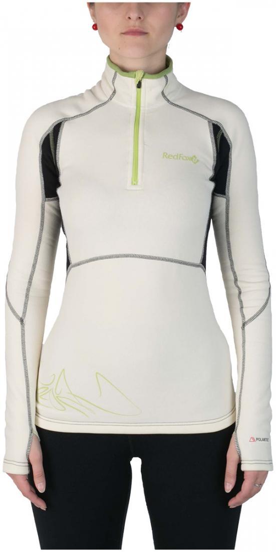 Термобелье пуловер Penguin Power Stretch WПуловеры<br>Женский пуловер. Предназначен для использования в качестве нижнего слоя в суровых погодных условиях.<br>Благодаря использованию материала Polartec® Power Stretch® ProТМ, пуловер не стесняет движений и создаёт благоприятный микроклимат для тела, прекрасно...<br><br>Цвет: Белый<br>Размер: 44