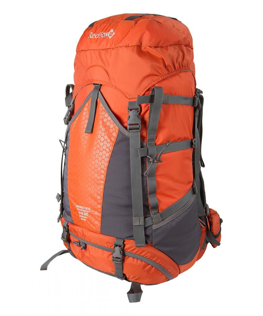 Red Fox Рюкзак Nanda Devi 65 (, 2200/кирпич, , , SS17) redfox сумка cosmetic 5 2200 кирпич