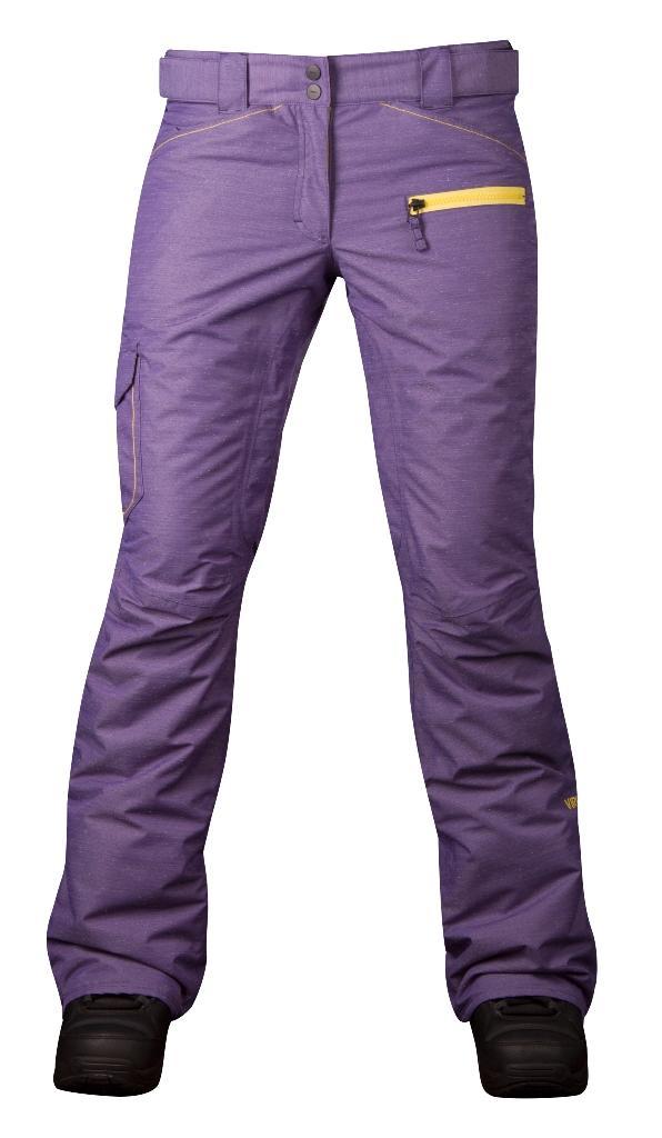 Штаны сноубордические утепленные Norm женскиеБрюки, штаны<br>Женская модель штанов Norm W оснащена зональным утеплением. Она обладают всеми основными характеристиками классических сноубордических ш...<br><br>Цвет: Фиолетовый<br>Размер: 50