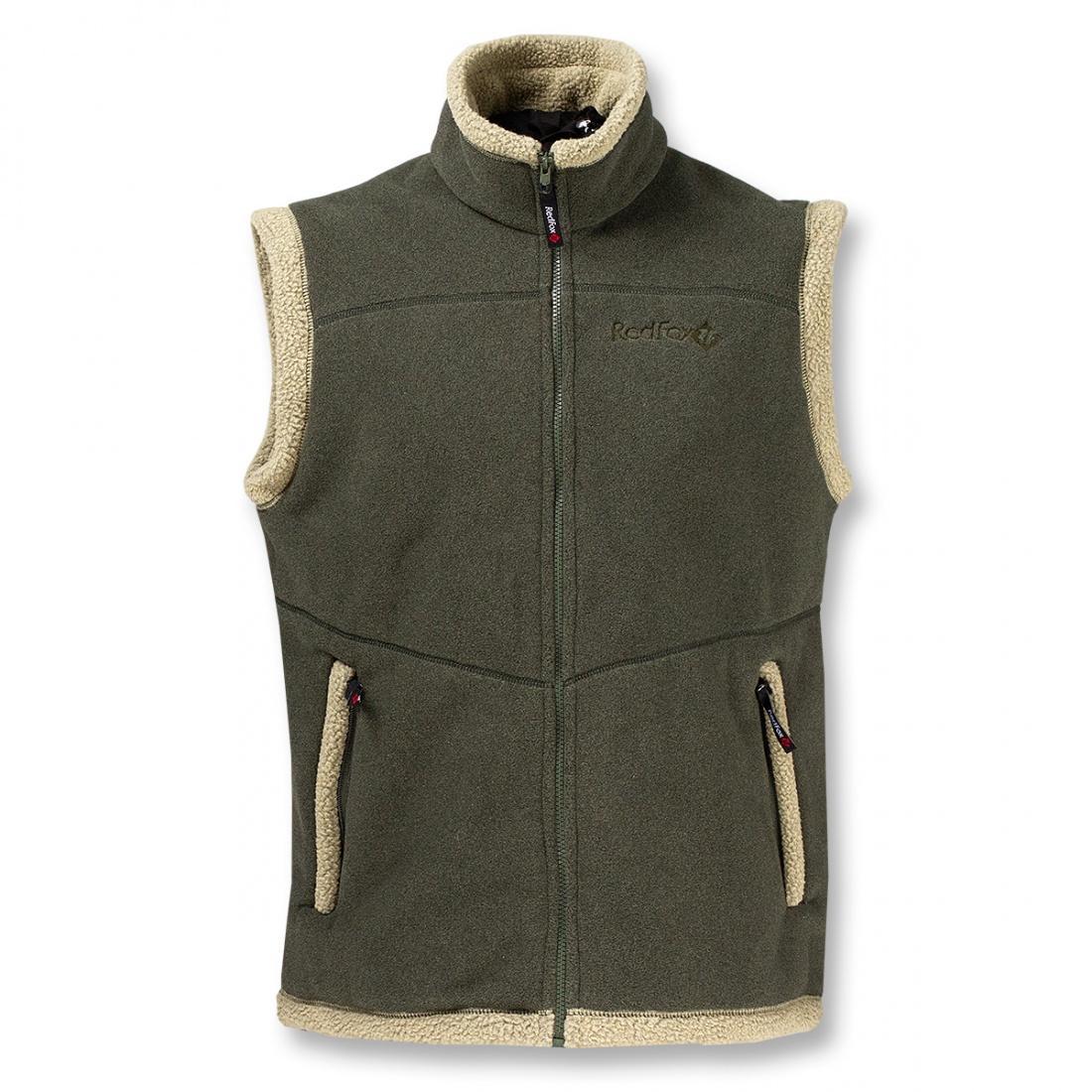 Жилет LhasaЖилеты<br><br> Очень теплый жилет из материала Polartec® 300, выполненный в стилистике куртки Cliff.<br><br><br> Основные характеристики<br><br><br><br><br>воротник ...<br><br>Цвет: Зеленый<br>Размер: 46